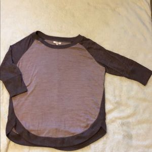 Quarter length sleeve Maurices top